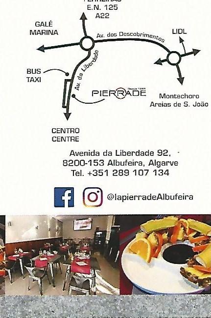 restaurant la pierrade Albufeira