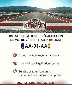 solution de légalisation automobile en Algarve au Portugal